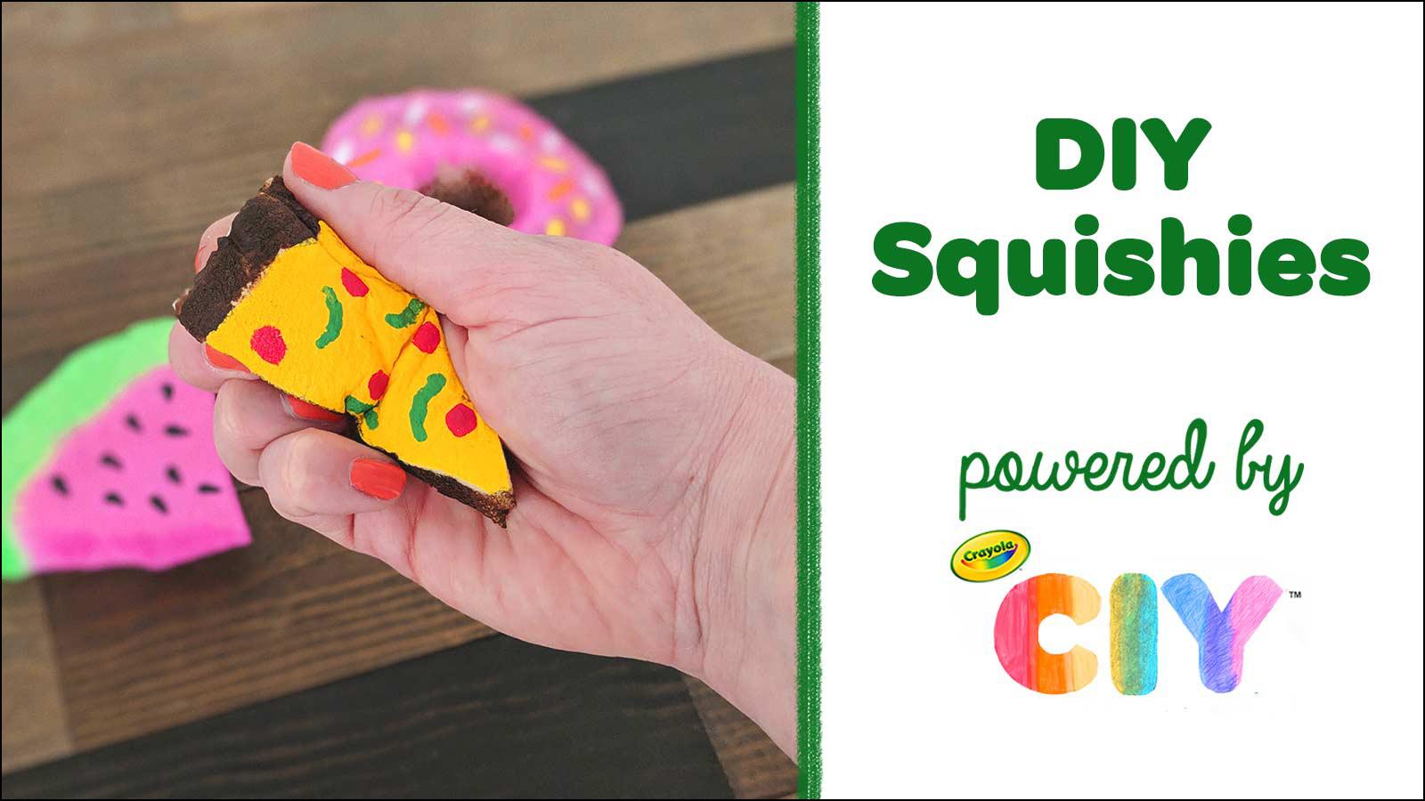Diy Squishies Squishy Toy Kids Craft Crafts Crayola Com Crayola Ciy Diy Crafts For Kids And Adults Crayola Com