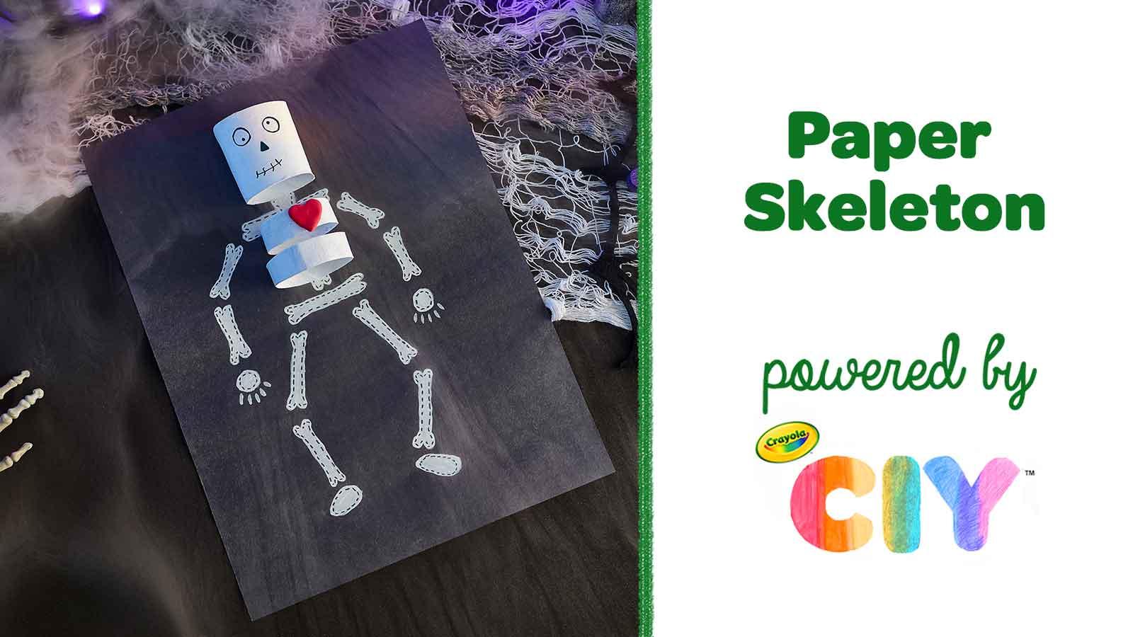 Paper-Skeleton_Poster-Frame