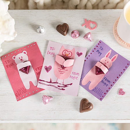 Candy Valentines Card_Product Card
