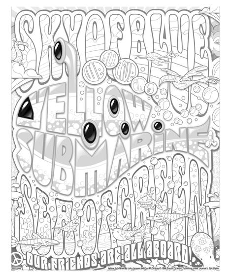 Lennon and McCartney Yellow Submarine   crayola.com