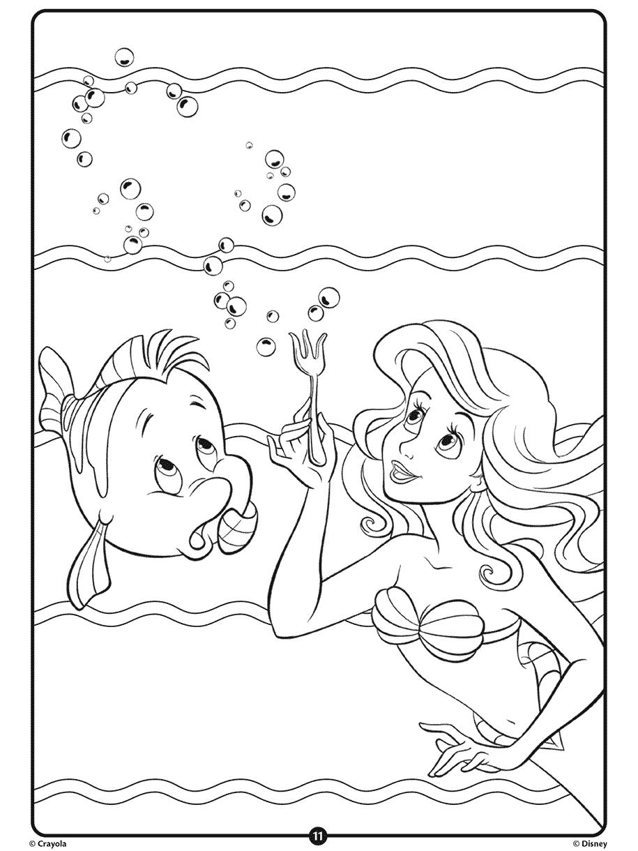Disney Princess Ariel Crayola.com