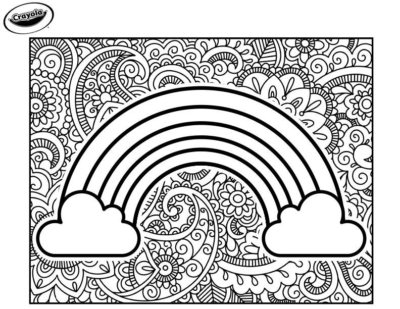 Rainbow Crayola.com
