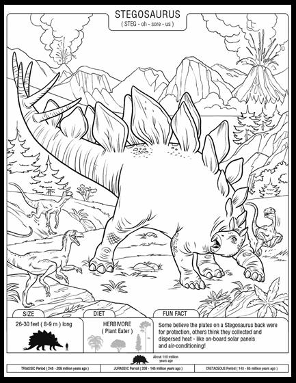Stegosaurus   crayola.com