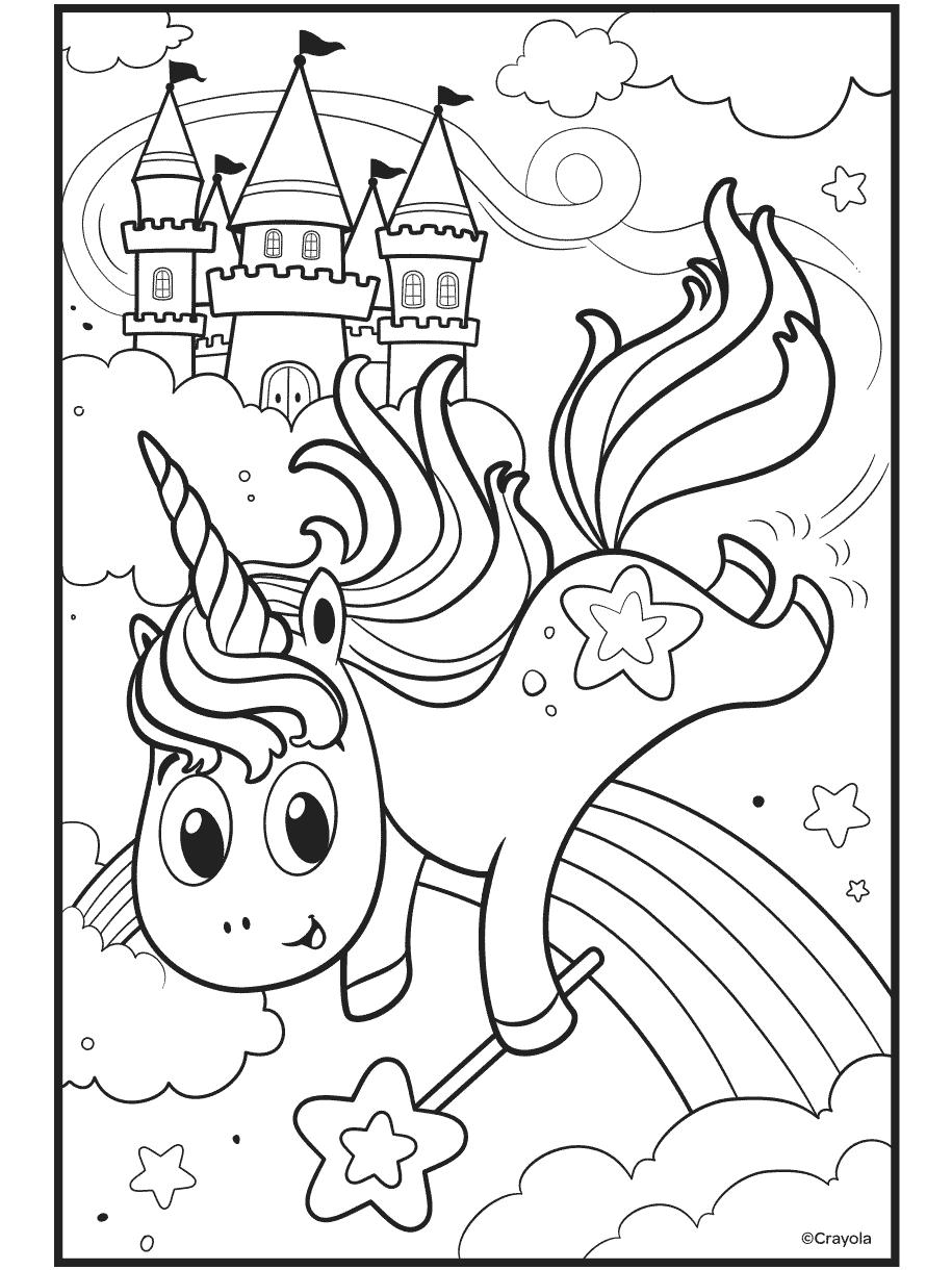 Uni-Creatures Unicorn Crayola.com