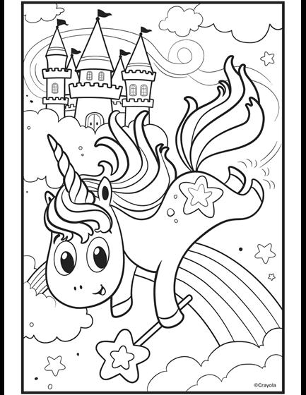 Uni-Creatures Unicorn | crayola.com