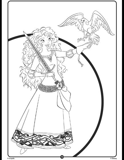 Disney Princess Merida Crayola Com