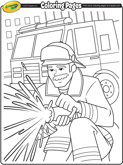 firefighter coloring page crayolacom