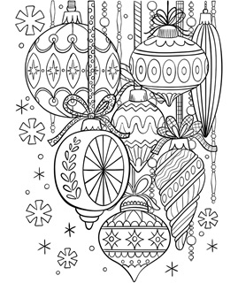 12++ Christmas Tree Coloring Page Crayola
