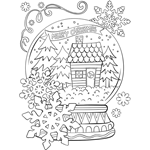 Winter | Free Coloring Pages | crayola.com