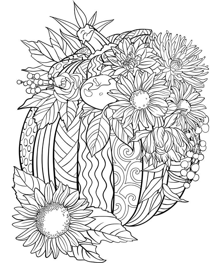 - Pumpkin Coloring Page Crayola.com