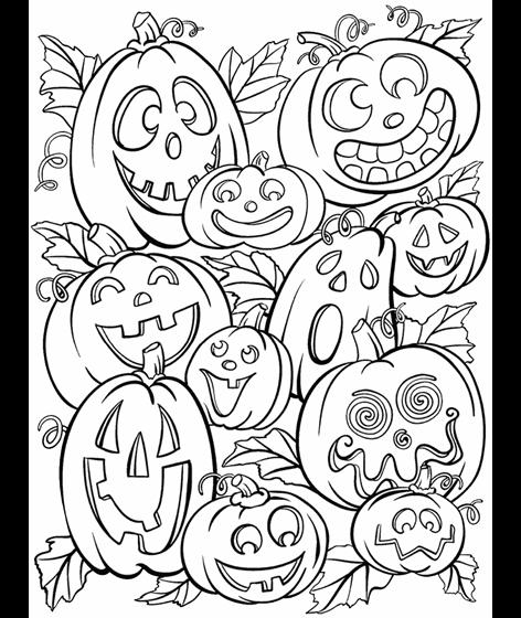 Jack O' Lanterns Coloring Page | crayola.com