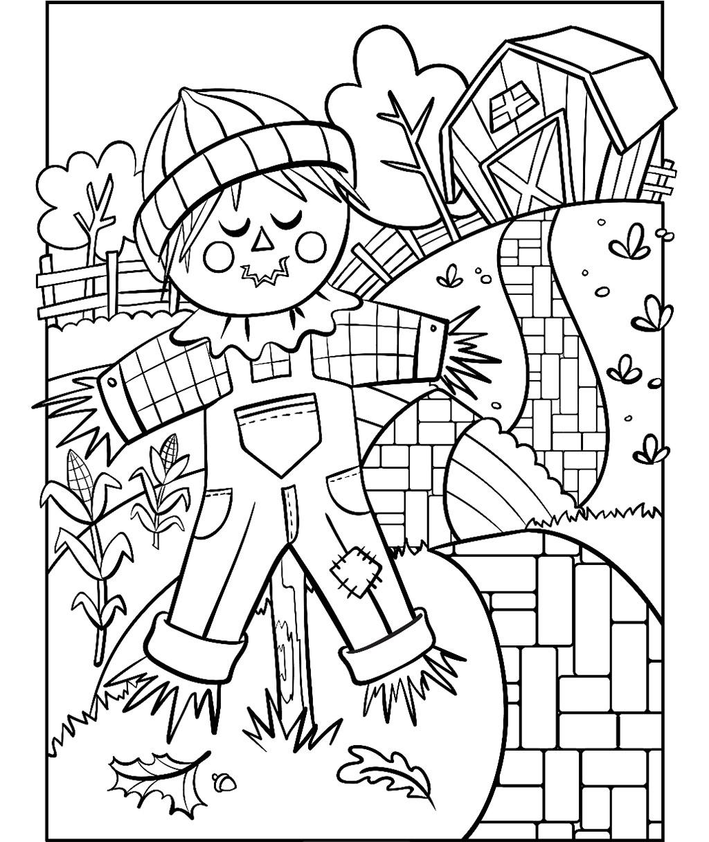 - Scarecrow Coloring Page Crayola.com