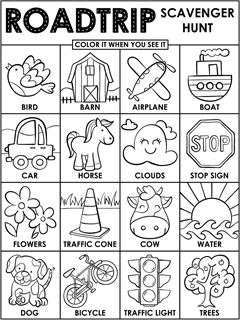 Summer Coloring Pages {Free Printable} - Easy Peasy and Fun | 320x240