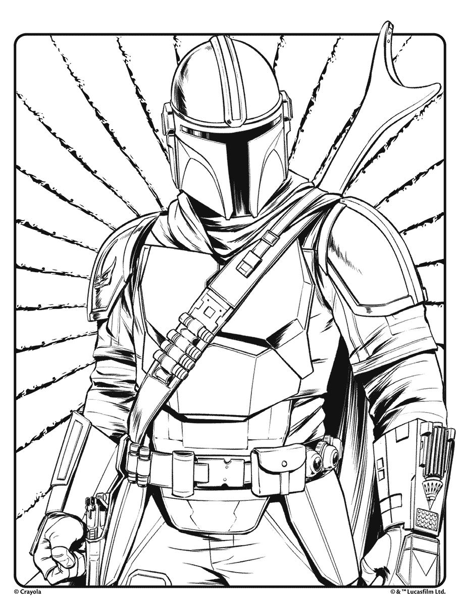 Star Wars Mandalorian Crayola.com