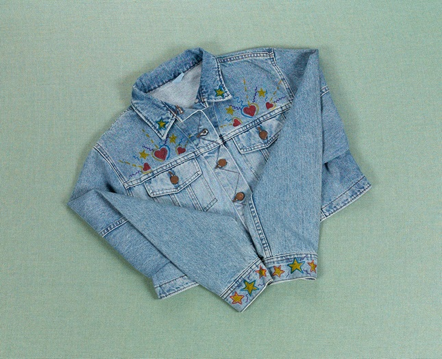 Jumpin' Jean Jacket craft