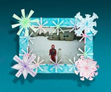 Snowflake Picture Frame craft