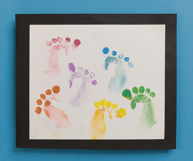 Footprint Fun craft