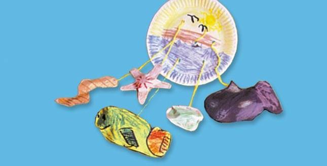 Fish Mobile Craft | crayola.com
