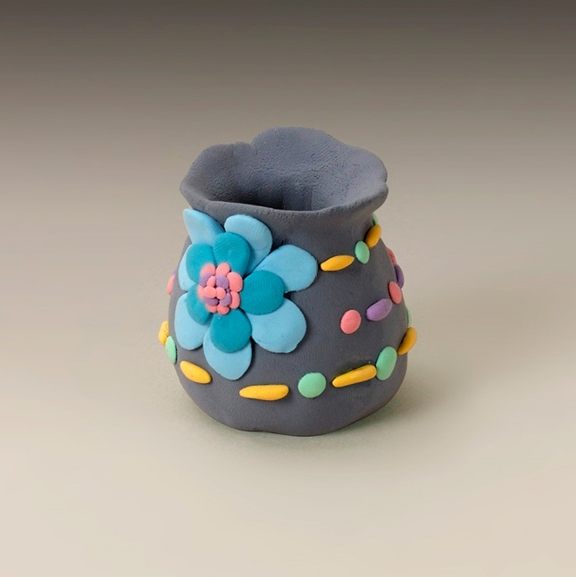 Pinch a Pot of Petals craft