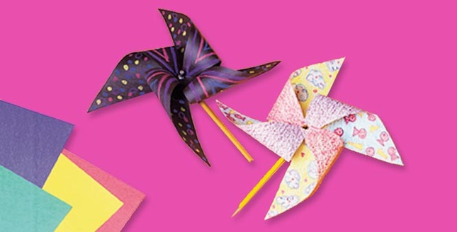 Party Pinwheels Craft Crayola
