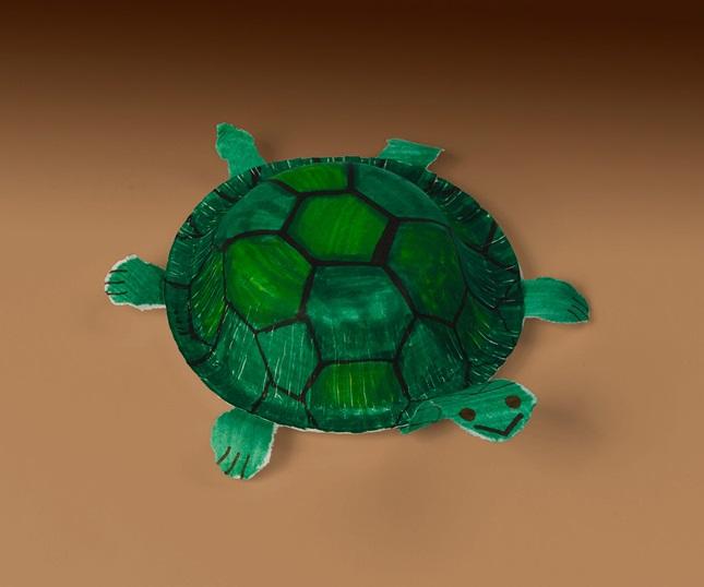 SlowPoke Turtles Craft crayola