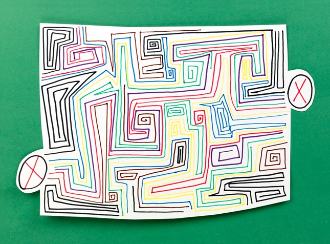 Meticulous Mazes craft