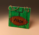 Sports on My Wall Plaque craft