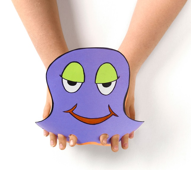 Finger Octopus craft