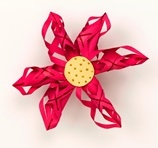 Christmas Poinsettia Wreath craft