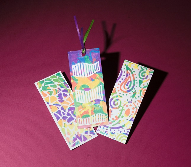 Bookmarks With a Tropical Flair craft