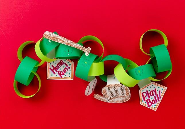 Favorite Sport Paper Chain Craft Crayola