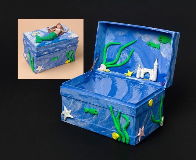ocean keepsake box craft