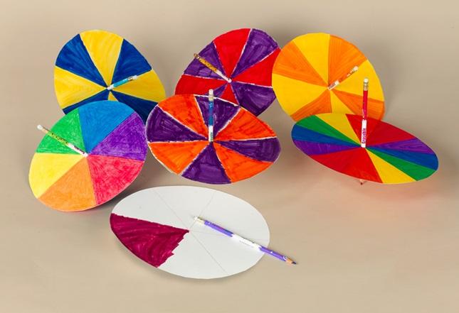 Color Spinners Craft Crayola Com