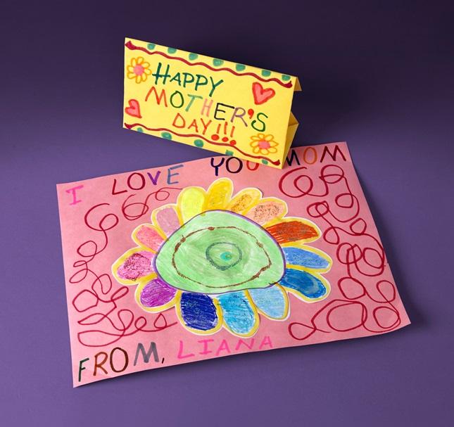 Mother S Day Art Velopes Craft Crayola Com