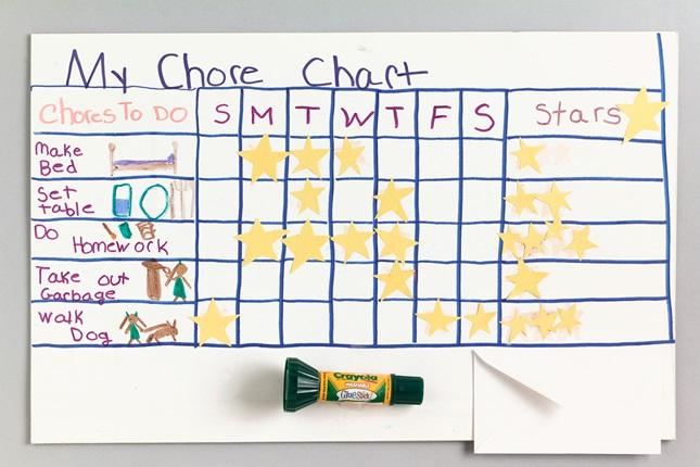 Chore chart craft crayola com