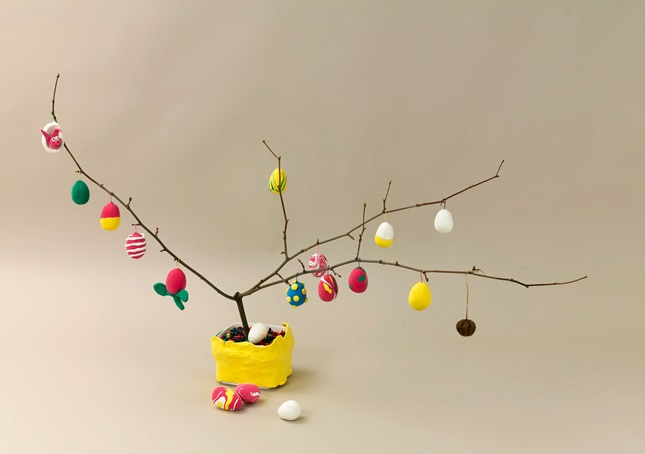Easter Egg Tree craft