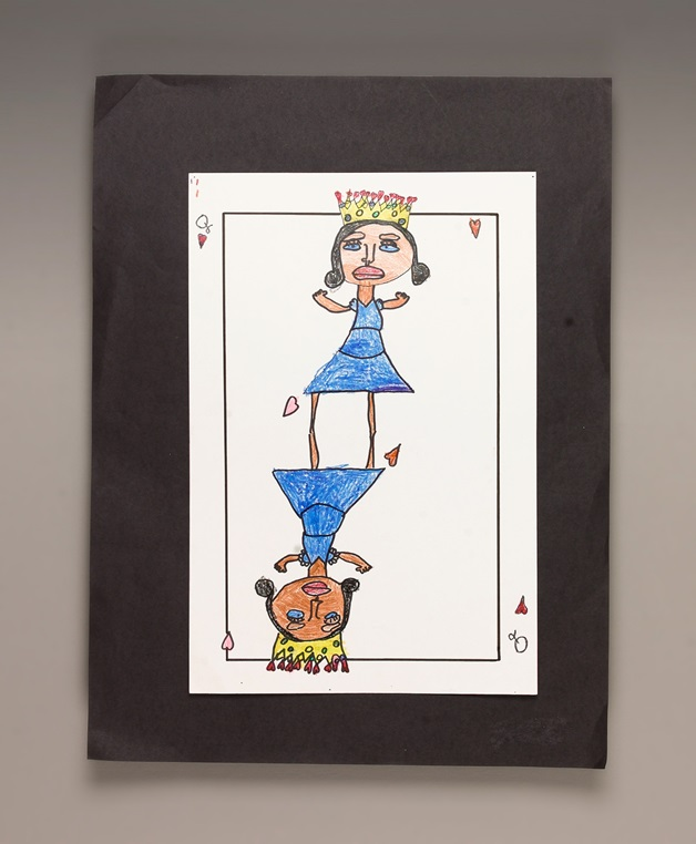 Queen of Hearts Card craft