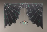 Creepy Spider Web Doorway craft