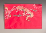 Golden Chinese Dragon craft