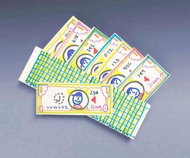 Play Money & Wonderful Wallet craft