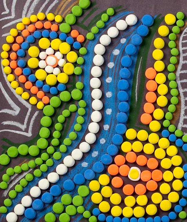 Aboriginal Art Crayola