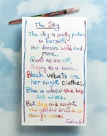 Rainbow Poem lesson plan