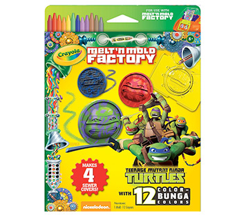 Melt and Mold Factory Teenage Mutant Ninja Turtles Refill Pack