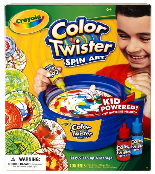 Color Twister Spin Art