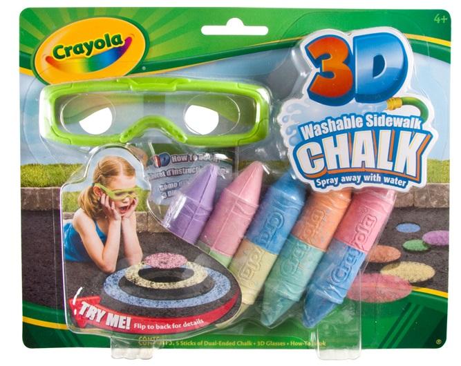 Crayola® 3-D Sidewalk Chalk