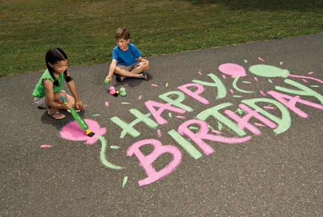 Brush Up a Happy Birthday Craft | crayola.com