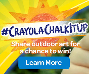 #ChalkItUp Share outdoor art for a chance to win! Learn More