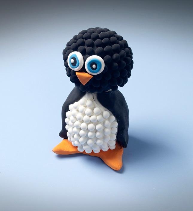 Presto Dots Penguin Craft Crayola Com