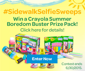 Sidewalk Selfie Sweepstakes - Enter Now