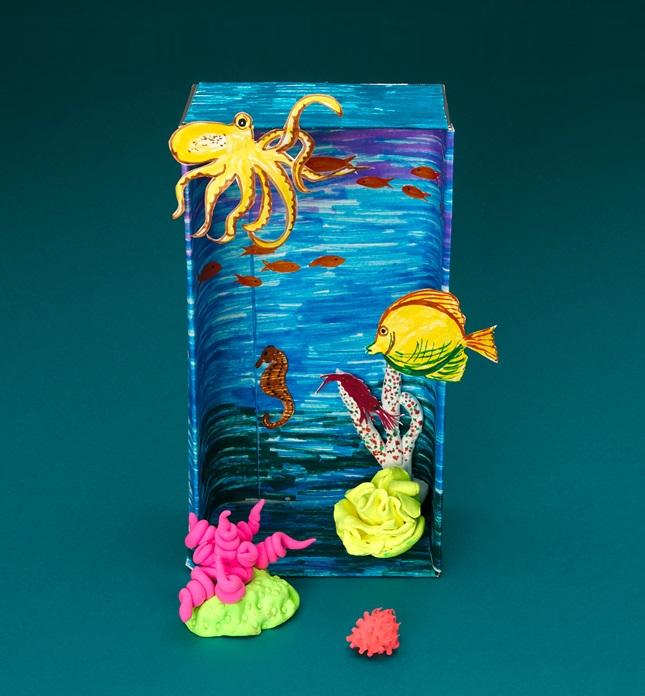 Fragile Reefs Crayolacom